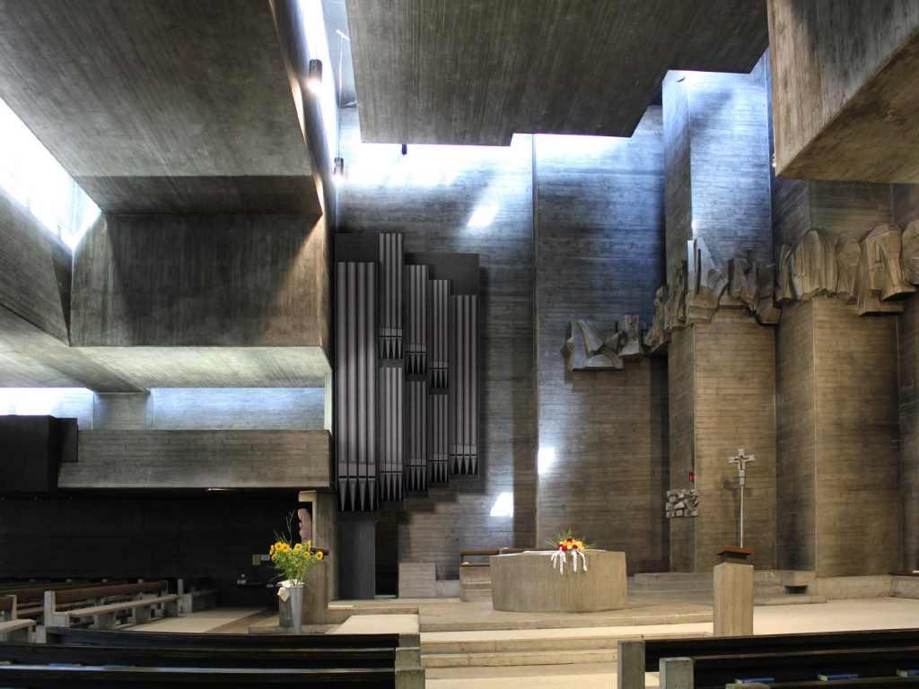 """Modell Orgel """"Himmelsleiter"""""""