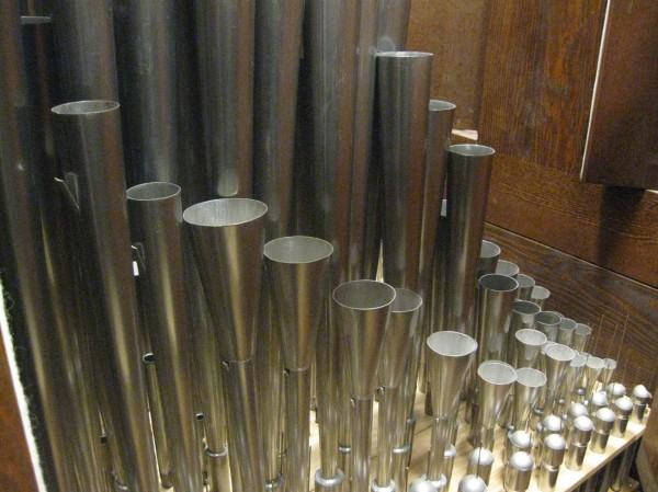 Innenleben einer Orgel